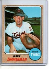 1968 TOPPS JERRY ZIMMERMAN #181 ( EX-MT OR BETTER )