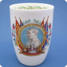 De-Luxe 1937 Royal Doulton King George VI Coronation Small China Beaker