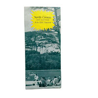 Vintage North Conway New Hampshire Travel Brochure White Mountains NH
