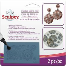 Liquid Sculpey Silicone Bakeable Mold W/Squeegee-Mandala - BEST VALUE IN EUROPE
