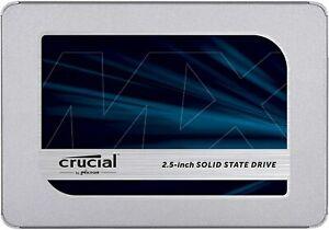 Crucial MX500 500 GB 2.5 Zoll SATA-III 6Gb/s CT500MX500SSD1 SSD