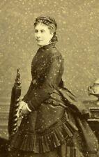Comedie Française French Stage Actress Marie Favart Reutlinger Photo CDV 1860's