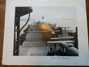 WW2 Doolittle Raid 'Bat out of Hell' Bombardier Jacob DeShazer Signed Print