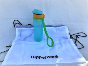 Tupperware Eco WasserPlus C181 mit Zugbeutel T39 700ML Grün Neu OVP Schule Kita