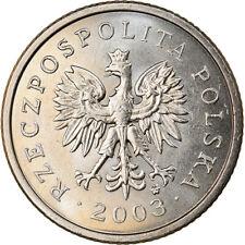 [#370717] Moneta, Polska, 20 Groszy, 2003, Warsaw, MS(64), Miedź-Nikiel, KM:280