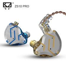 KZ ZS10 PRO 10 Hybrid technology Units In Ear Earphones HIFI Monitor Headphones