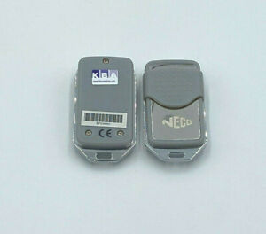 2 X Neco TR4 remote Control for Roller Shutters and Garage Doors 433MHz