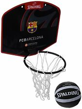 Board of Basketball Small Design FC Barcelona Spalding With Mini Ball New