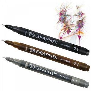 Derwent Graphik Line Maker Individual Pen