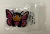 Amazon Butterfly Peccy Pin - Pink Ribbon / Breast Cancer Employee Exclusive