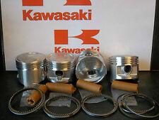 KAWASAKI Z500 KZ500B 4 cyl PISTON KITS (4) NEW +0.5mm OVERSIZE = 55.5mm KiR