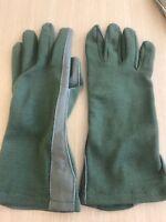 Nomex Flight Gloves Sage Green