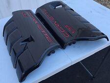 Corvette C6 Carbon Fiber Hydrographic LS2 LS3 LS7 GS Fuel Rail Engine Covers