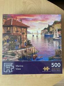 Marina View- 500 Piece Jigsaw Puzzle