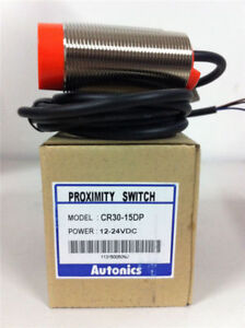 Original Proximity Switches Sensor Cr30-15dp Autonics CR3015DP Capacitive M30