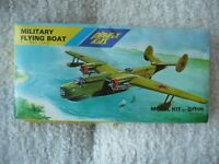 PLAYFIX MILITARY FLYING BOAT  1:72 BOX NOT SEALED BUT ALL PARTS THERE
