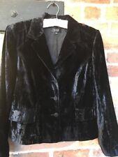 FISSER Velvet Jacket/blazer Size 14/16 Excellent Condition