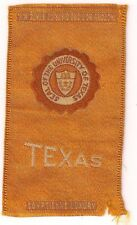 Egyptienne Luxury University Of Texas Cigarette Series Inserts Early 1910'S