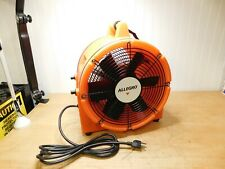 Allegro 12 Axial Ac Plastic Blower 1 Hp 220v Blower Only 9543