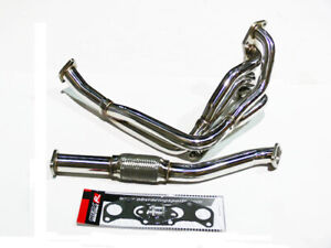 OBX S/s Exhaust Manifold Fit 1992-95 Toyota Paseo Tercel 5EFE 16V 1.5L