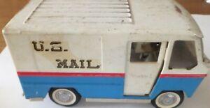 Vintage Buddy L U.S. Mail Postal Truck Pressed Steel Toy Truck - 1960s