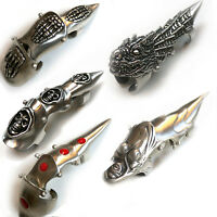 Metal Finger Claws 10 Types Sold Separately / Goth  Metal  Biker  Fantasy  Rock