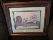 Home Interiors, Wood framed print