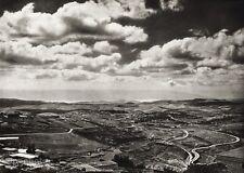 1934 Vintage ISRAEL ~ Jordan Valley Mountain Landscape Photo Art HURLIMANN 11x14