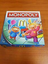 Unused McDonald's Happy Meal Toys Monopoly
