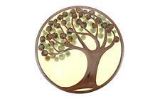 A Danish pottery Erling & Karin Heerwagen wall plaque / trivet Tree design
