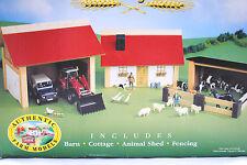 BRITAINS COUNTRY FARM FATTORIA LEGNO, CAPPANNONE, COTTAGE, FIENILE     ART 40067