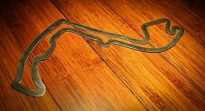 """48"""" Monte Carlo Track Outline Wall Art Hanging Man Cave Gran Prix Course"""