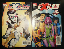 """Exiles #18 & 19 (2002, Marvel) NM """"So Lame"""" 2-Part Complete Set"""
