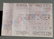 POWDERFINGER -  USED CONCERT TICKET - LIVE IN VICTOR HARBOUR S.A. 1999