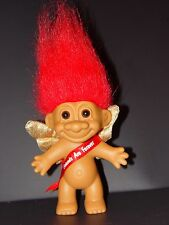 "Troll Doll 4 1/2"" Russ  Valentine's Day / Anniversary Cupid Friends are Forever"