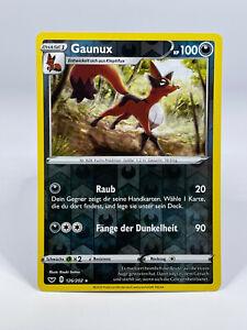 Pokémon - Reverse Holo / Gaunux 126/202 Schwert & Schild DE NEU - boosterfrisch