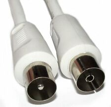 1.5m Long Male to Female RF Lead Cable Coaxial Digital Plug Coax for Freeview