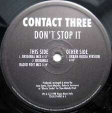 """Contact Three - Don't Stop It (12"""") Vinyl Schallplatte - 105321"""