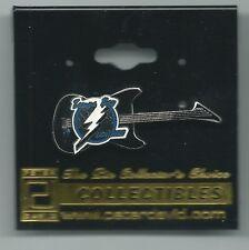 NHL Tampa Bay Lightning Guitar Pin OOP Hockey Peter David