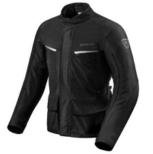 GIACCA JACKET MOTO REV'IT REVIT VOLTIAC 2 H2O NERO BLACK IMPERMEABILE TG XYL 3XL