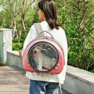 Pet Carrier Backpack Cat Puppy Bubble Carrier Bag with Airline-Approved Outdoor