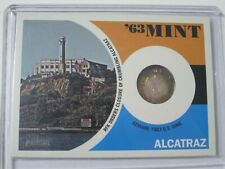 "2012 Topps Heritage '63 Mint #63AZ ALCATRAZ ""RFK Orders Closure"" Dime Coin Card"