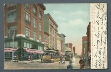 Vintage Postcard Reconstructed Baltimore St. After the Great Fire, Baltimore, Md