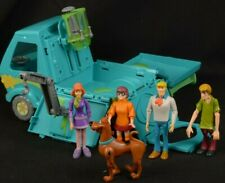 Scooby-Doo & The Gang Mystery Machine Playset Fred Daphne Shaggy Velma Pop Out
