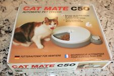 Nib Cat Mate C50 Automatic Pet Feeder With 5 Meal Timer & Cold Packs
