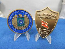 U.S. CENTCOM COMMANDER & CIA DIRECTOR GENERAL DAVID PETRAEUS SET OF 2 COINS