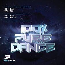 Pure Energy 100% Pure Dance Aerobics Fitness Music Double CD Continuous Megamix