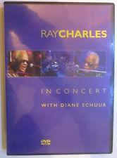 Musik DVD Ray Charles : IN CONCERT - WITH DIANE SCHUUR Neuwertig