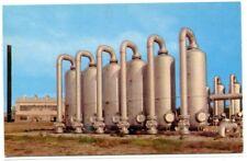 Natural Gas Booster Station Greensburg Kansas postcard