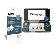 1+1x Nintendo 2DS XL Protector de Pantalla Vidrio Flexible Cristal Proteccion 9H